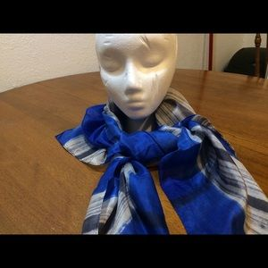 Vintage Glentex  All Silk Scarf